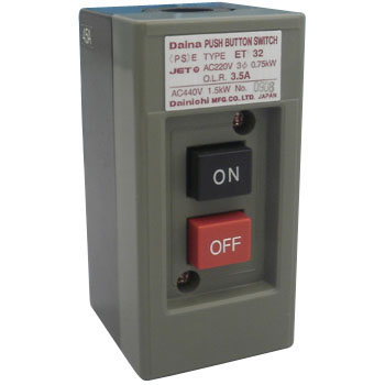 Dynamic Force Pushbutton Switch DX Series With Exposed Form Overload Protection