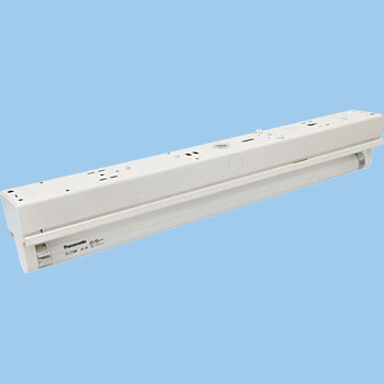 Ceiling Fluorescent Lamp Base, No Shade, FL15 Type x1
