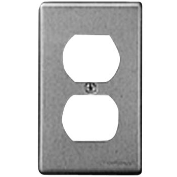 New Metal Embedding Double Outlet Plate
