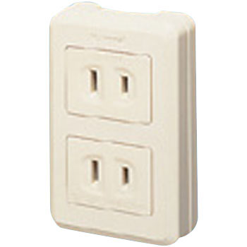 Refine Series Exposed Double Outlet