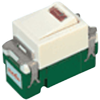 Full Color Embedded Pilot Switch, Single Pole Switch, No Name