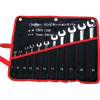 c7cc0ae5e15 CBW1100 Combination spanner set Super Tool  MonotaRO Singapore  35195404