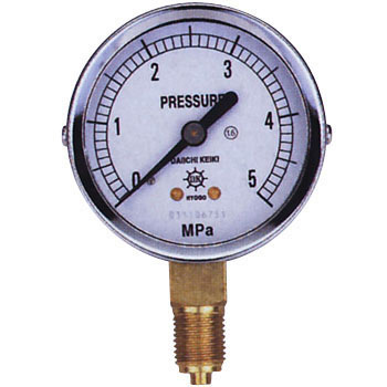 Pressure Gauge, G1/4, Bottom, 60phi