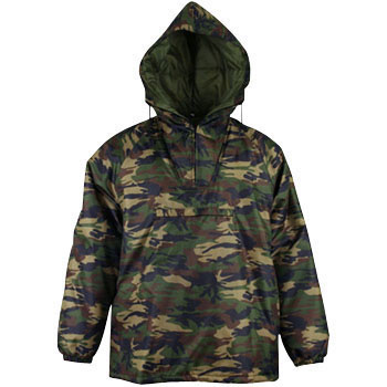 Camouflage Jacket, Fully Quilted