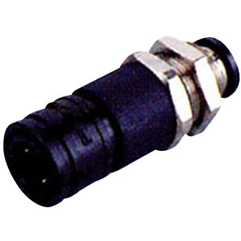 Light Coupling Socket Bulkhead Tube Socket