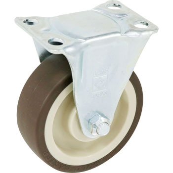 Gold Caster SK, Urethane Wheel with B, Rigid Caster