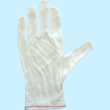 Cotton Smooth Gloves Without Gusset