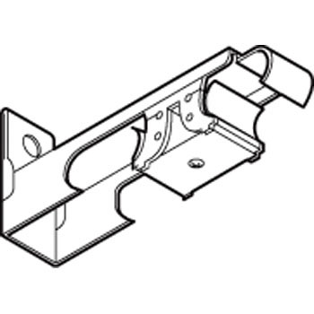 C-Type One-Touch Double Bracket