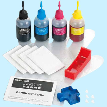 Refilling ink Canon Compatible BCI-7e Type 4 Color Set