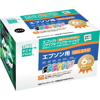 Recycling Ink, EPSON Corresponded, IC21 Type 6 Color Pack