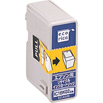 Recycling Ink, EPSON Corresponded, IC1BK02 Type