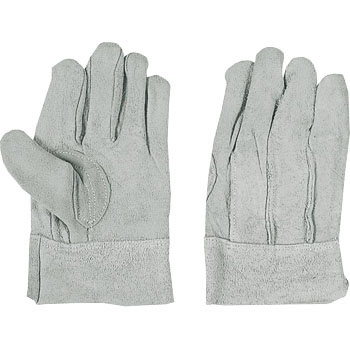 Cotton Leather Gloves Inside Floor Back Sewing