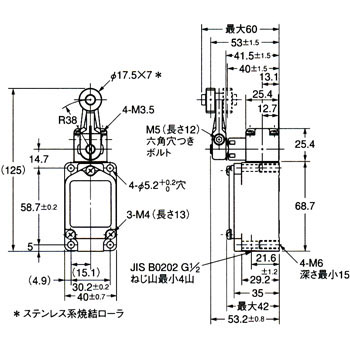 WLCA2-LD Two-Circuit Limit Switch/Long-Life Two-Circuit Limit Switch ...
