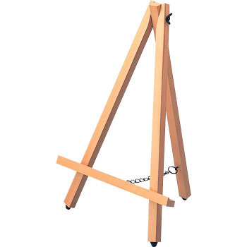 Wooden Easel Desk-Top Size, S Size