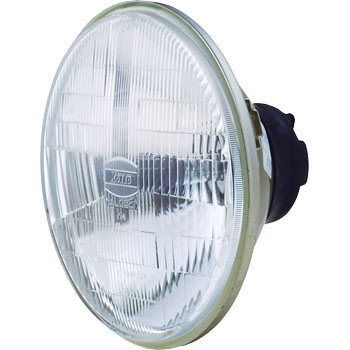 Replace Type Halogen Head Lamp Unit 12V