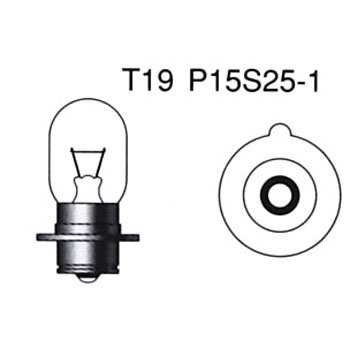 2 Wheeled Vehicle Standard Halogen PH7s 6V