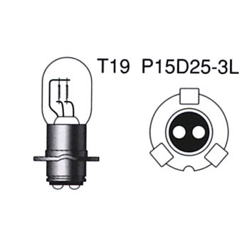 2 Wheeled Vehicle Standard Halogen PH8x 12V