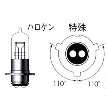 2 Wheeled Vehicle Standard Halogen PH12 12V
