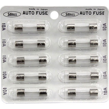 Glass Tube Fuse 25mm