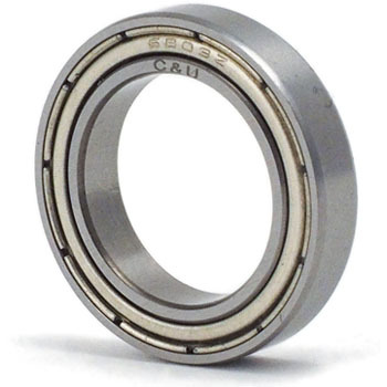 Deep Groove Ball Bearings 6800 Series ZZ
