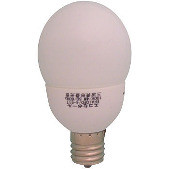 Eco Ball, 25W Mini Ball Fluorescent Bulb, E17