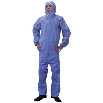 6010 Classic Blue Protective Clothing Made Of Tyvek, R