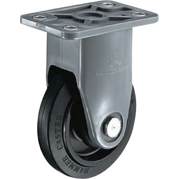 Rigid Caster, Nylon-Wheel