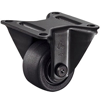 540Hr Rigid Caster, Heck Nylon Wheel, Radial Ball Bearings Case