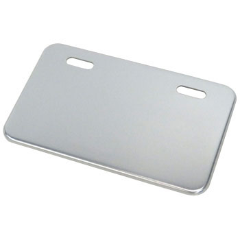 Rectangular Aluminum Number Plate Base