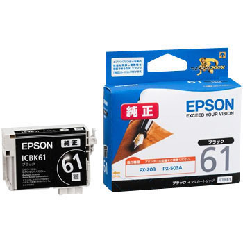 Ink Cartridge EPSON ICBK61, Genuine
