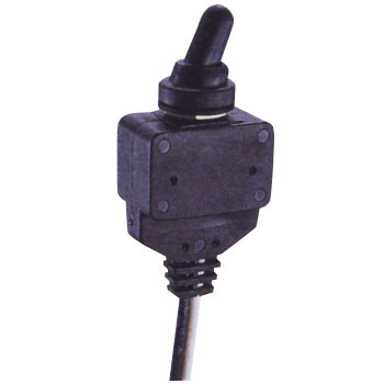 Waterproof Toggle Switch, With Cord