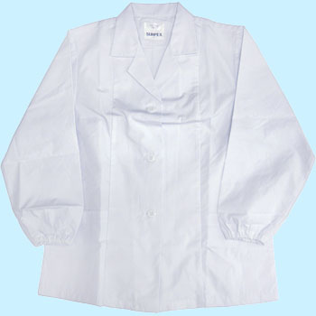 Cooking Robe Collar Equipped Long Sleeve for Women