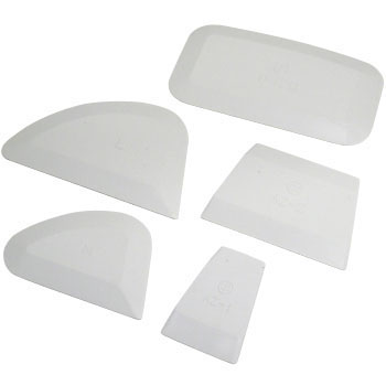 White Spatulas 5pcs
