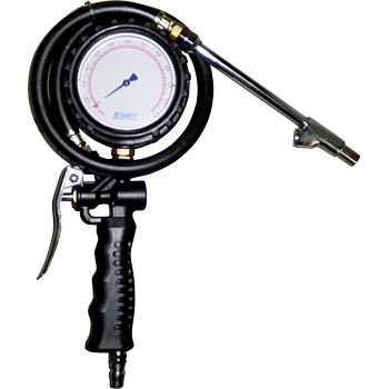 Air Inflator With Pressure Meter Can Be Depressurized