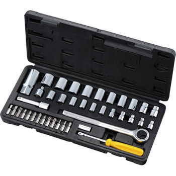 Socket Wrench Set 40 Pcs