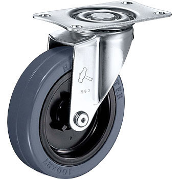420E Swivel Caster, Nylon Wheel, Rubber Wheel
