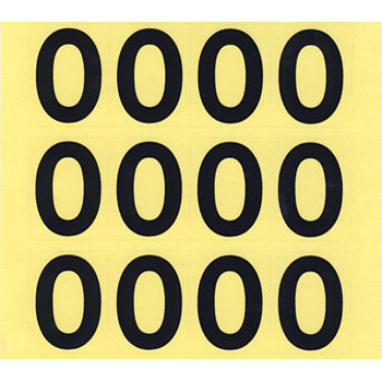Loading Amount Indication Sticker
