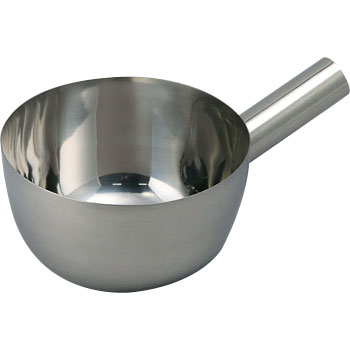 18-8 Ladle Round Bottom, Wooden Handle Sold Separately