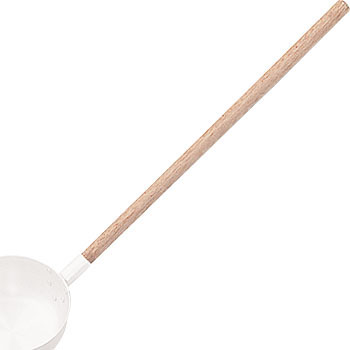 Wood Handle for 18-8 Ladle