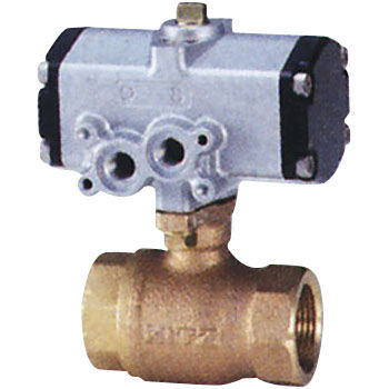 Bronze Small Pneumatic Ball Valve, Reduced Bore