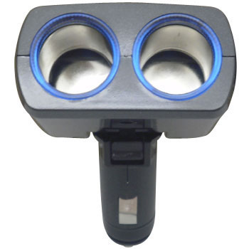 2-Glowing Blue Light Socket, Direct Type
