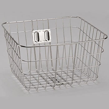 Stainless Steel Wire Basket Square Thick DX
