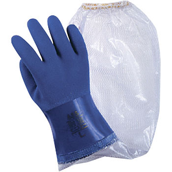 Vinyl Gloves with Arm Cover Oil Resistant, Viny Star No.657""