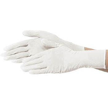 Nitrile Gloves, With Flour