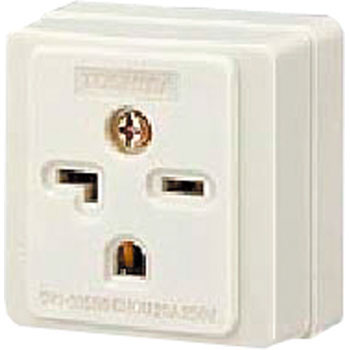 20A125V Exposed Electrical Outlet, Grounding Pin