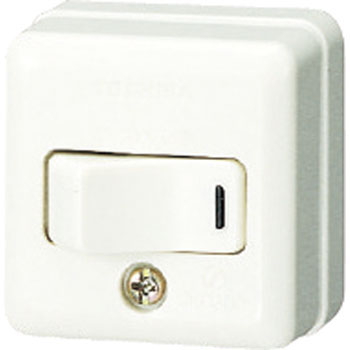 Square Tumbler Switch, Single Pole