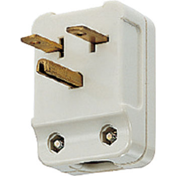 15A250V Side Cap, Grounding Pin