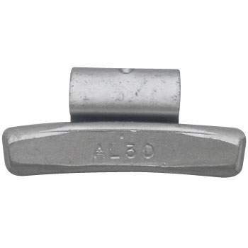 Iron Implant Weights for Aluminium Wheels
