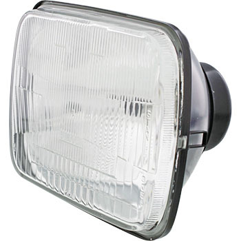 Square Motorcycle Headlamp
