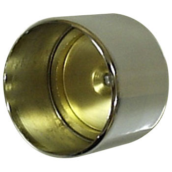 Brass Pipe Chrome Double Socket